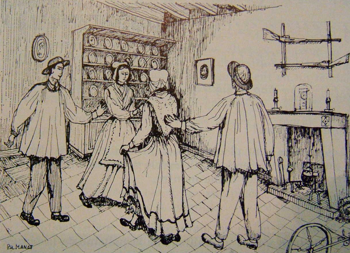 la chaine des dames du bal breton