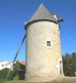 DIAPORAMA: The windmill of Plataine at BOURCEFRANC